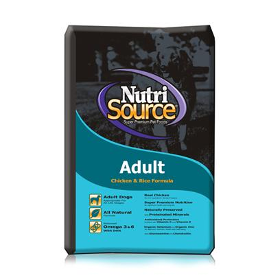 Tuffy's Presents Tuffies Pet Nutrisource Dry Dog Food 18lb Bag. Tuffynutrisource Dog Food is a Specially Formulated Meal that will Boost your Pet's Vitality. Formulated in Accordance with the Aafco Nutrient Standard, Tuffy has Created a Meal Perfect for your Dog. It is also Fortified with the Necessary Vitamins and Minerals Such as Vitamin E (which is Important in Maintaining your Dog's Healthy Immune System) to Keep your Dog Healthy and Happy. Available in a Wide Array of Flavors Like Lamb and Rice and Chicken and Rice, and Made from only the Finest Ingredients, Tuffy'snutrisourceis a Great Choice for the Discerning Pet Owner. Primary Protein Source Chicken Primary Carb Source Chicken Analysis Crude Protein (Min.) 28.0% 280 G/Kgcrude Fat (Min.) 18.0% 180 G/Kgcrude Fiber (Max.) 5.0% 50 G/Kgmoisture (Max.) 10.0% 100 G/Kgomega - 6 Fatty Acids (Min.)3.0% 30 G/Kg*Omega - 3 Fatty Acids (Min.) .2% 2 G/Kgglucosamine (Min.)550 Ppm550 Mg/Kg*Chondroitin (Min.)150 Ppm150 Mg/Kg*Ascorbic Acid (Vitamin C) (Min.) 80 Mg/Kg 80 Mg/Kg*Lactobacillus Acidophilus (Min.) 50 Million Cfu/Lb 50 Million Cfu/Lb*Enterococcus Faecium (Min.) 35 Million Cfu/Lb 35 Million Cfu/Lb*Saccharomyces Cerevisiae (Min.) 900 Million Cells/Lb 900 Million Cells/Lb [36162]