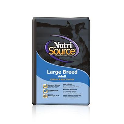 Tuffy's Presents Tuffies Pet Nutrisource Large Breed Dry Dog Food 33lb Bag. Each Breed of Dog has Different Dietary Requirements, Especially as they Age, and Tuffynutrisource has Prepared a Delicious Meal to Target your Large Breed Dog in all Stages of Life. Made from the Finest Natural Ingredients and Fortified with Vitamins and Minerals, Tuffy will Help your Pet Grow, and Stay, Big and Strong. This Meal is Packed with Protein and Calcium to Help Build Strong Muscles and Bones. Tuffynutrisource for Large Breed Dogs will Allow your Pet to Live and Eat Like a Champion. Primary Protein Source Lamb Primary Carb Source Lamb Analysis Crude Protein (Min.) 23.0% 230 G/Kgcrude Fat (Min.) 14.0% 140 G/Kgcrude Fiber (Max.) 6.0% 60 G/Kgmoisture (Max.) 10.0% 100 G/Kgselenium (Min.) 0.5 Mg/Kg 0.5 Mg/Kgvitamin E (Min.) 175 Iu/Kg 175 Iu/Kg*Omega - 6 Fatty Acids (Min.) 2.0% 20 G/Kg*Omega - 3 Fatty Acids (Min.) 0.4% 4 G/Kg*Glucosamine (Min.) 550 Ppm 550 Mg/Kg*Chondroitin (Min.) 150 Ppm 150 Mg/Kg* Ascorbic Acid (Vitamin C) (Min.) 100 Mg/Kg 100 Mg/Kg*Lactobacillus Acidophilus (Min) 50 Million Cfu/Lb 50 Million Cfu/Lb*Enterococcus Faecium (Min) 35 Million Cfu/Lb 35 Million Cfu/Lb*Saccharomyces Cerevisiae (Min) 900 Million Cells/Lb 900 Million Cells/Lb [36252]