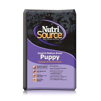 Tuffy's Presents Tuffies Pet Nutrisource Small/Medium Puppy Dry Dog Food 18lb Bag. Tuffynutrisource is Specially Designed to Meet the Dietary Requirements of Small and Medium Breed Puppies.A PuppyS Development Hinges Strongly on the Diet she Receives in her Formative Months and Tuffy Ensures that this Meal Meets all Those Needs by Using High-Quality Ingredients that are Packed with Nutrients, Vitamins and Minerals. Rich in Protein and Calcium, this Food Aids not only Physical, but also Mental Development.Tuffynutrisource for Small and Medium Breed Puppies is the Perfect Choice to Start your Puppy off on the Road to a Healthy Lifestyle. Primary Protein Source Chicken Primary Carb Source Chicken Analysis Crude Protein (Min.) 32.0% 320 G/Kg Crude Fat (Min.) 21.0% 210 G/Kg Crude Fiber (Max.) 5.0% 50 G/Kg Moisture (Max.) 10.0% 100 G/Kg Selenium (Min.) 0.5 Mg/Kg 0.5 Mg/Kg Vitamin E (Min.) 175 Iu/Kg 175 Iu/Kg *Omega - 6 Fatty Acids (Min.) 3.5% 35 G/Kg *Omega - 3 Fatty Acids (Min.) 0.8% 8 G/Kg *Glucosamine (Min.) 550 Ppm 550 Mg/Kg *Chondroitin (Min.) 200 Ppm 200 Mg/Kg * Ascorbic Acid (Vitamin C) (Min.) 100 Mg/Kg 100 Mg/Kg *Docosahexaenoic Acid (Dha) (Min) 0.05% .5 Mg/Kg *Lactobacillus Acidophilus (Min) 50 Million Cfu/Lb 50 Million Cfu/Lb *Enterococcus Faecium (Min) 35 Million Cfu/Lb 35 Million Cfu/Lb *Saccharomyces Cerevisiae (Min) 900 Million Cells/Lb 900 Million Cells/Lb [36255]