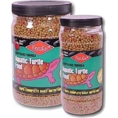 Rep-Cal Presents Aquatic Turtle Food (Jar) 10.8oz. Rep-Cal Aquatic Turtle Food is Formulated to Ensure Proper Growth and Health by Providing Complete and Balanced Nutrition. It is a Veterinarian Recommended Food Containing Natural Plant Ingredients and High Quality Animal Protein Aquatic Turtles Love and Provides the 100% Complete Daily Nutrition they Need. Rep-Cal's Aquatic Turtle Food Contains High Quality Animal Proteins and the Goodness of Apple Fiber. Essential Calcium, Trace Minerals and Vitamins are Added for Nutritional Completeness and Balance. Rep-Cal Aquatic Turtle Food has been Tested Successfully for Aquatic Turtles by Reptile Veterinarians. It is Fortified with Optimal Levels of Vitamins and Minerals Like Calcium and Vitamin D3 so no Other Food or Supplements are Required. Rep-Cal Aquatic Turtle Food has been Developed for Longer Float Times. (Image Shown may not Represent Actual Product Size) [36316]