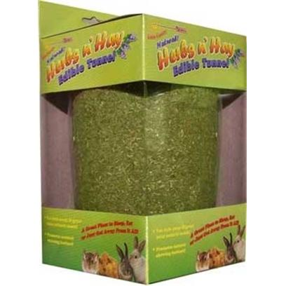 Fm Browns Presents Falfa Cravins Herbs N Hay Edible Tunnel 5'. [36345]
