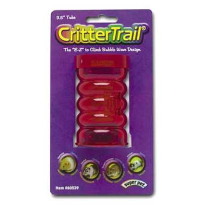 Super Pet Presents Crittertrail Fun Tube 3.5' Tube-3.5'. Crittertrail Fun-Nels, Tube, 3.5 [36359]