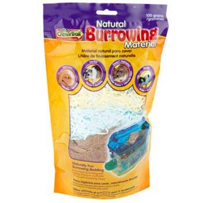 Super Pet Presents Crittertrail Burrow Material 100gr. Crittertrail Natural Burrowing Material is Naturally Fun Nesting and Burrowing Bedding for Hamsters, Gerbils, Dwarf Hamsters or Pet Mice Crittertrail Natural Burrowing Material is Made from a Blend of all-Natural Coconut Fiber and Shredded Paper Bedding Burrowing Material Provides Boredom-Busting Activity for Small Pets as Pet Owners Watch their Critter Mix-Up the Layers of Colored Paper Crittertrail Natural Burrowing Material Includes 100 Grams of Material [36384]