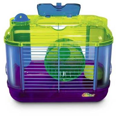 Super Pet Presents Crittertrail Mini Two. Crittertrail Mini Two Includes a Comfort Wheel. Crittertrail Mini is a Convenient Size that Kids can Carry Anywhere. The Four Add-on Accessory Locations Provide the Addition of Exciting Components as Well as the Connection to Other Crittertrail Homes. &quot;12.5&quot;&quot;L X 8&quot;&quot;W X 9.5&quot;&quot;H&quot; [36389]