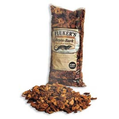 Fluker Labs Presents Fluker Repta-Bedding Bark 8qt. This Orchid Bark is an Excellent Natural Bedding for all High-Humidity-Loving Reptiles. Bigger Pieces Mean Less Chance for Ingestion and Less Dust. [36397]