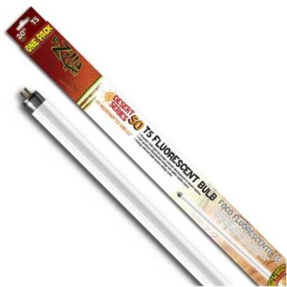 R-Zilla Presents Desert Flo Bulb 12w 20' T5. Delivers Uvb Light Levels Essential for Desert Reptile Health Full-Spectrum Illumination Accents Subtle Pet Colors Styles to Fit Fluorescent, Incandescent Light Fixtures Bring a Ray of Desert Sunshine to Arid Reptile Habitats when it Comes to the Bone Health of a Desert Reptile, the Extra Daily Dose of Uvb Light Provided by a Desert 50 Bulb (50 Microwatts Per Second/Cm2) is as Essential as Proper Food and Water for Long Term Strength. The Desert 50 Family of Bulbs also Provide Needed Uva Light, Plus Visible-Spectrum Illumination that Makes Skin Coloration More Vivid and Viewable. Get all this in a Family of High-Efficiency Bulbs Designed to Fit Most Major Fluorescent Fixture Types (Compact, T5 and T8). Incandescent Lamp Users also have the Option of a Coil Bulb that Screws into a Standard Light Socket. Desert 50 Bulbs are Designed for 3500 Hours or Twelve Full Months of Average Use. Size- 12 Watt T5 20 Inch / Dimensions- L20.50 W2.00 H1.00 [36418]