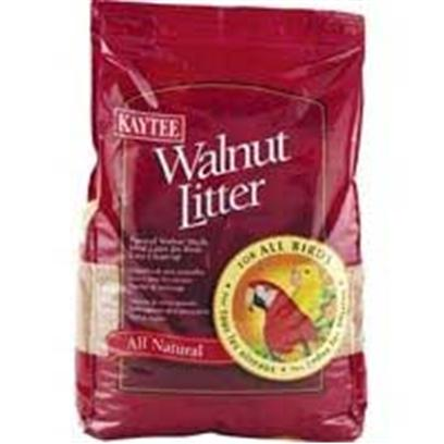 Kaytee Presents Kt Walnut Bedding Kaytee 25lb. Kaytee Walnut Litter Consists of Natural Crushed Walnut Shells. It does not Stick or Cling to Cage Allowing for Easy Clean Up. Recommended to be Used as a Non-Contact Bedding. *Use only in Cages with Grate Separating Litter from Birds. Due to Possible Health Concerns from Potential Bird Ingestion, Walnut Litter should not Come in Direct Contact with Birds. [36513]