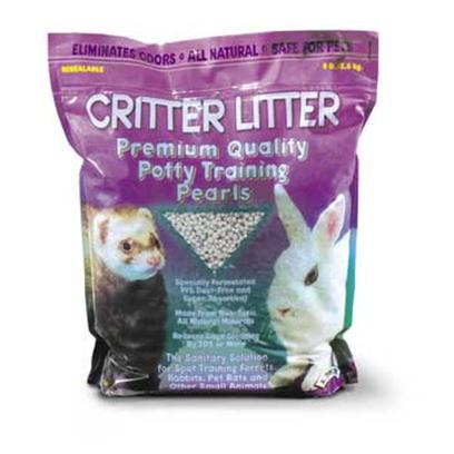 Super Pet Presents Spet Critter Litter 8lb. &quot; Critter Litter is a New Premium-Quality Potty Training Pear for Spot Training Ferrets, Rabbits, Pet Rats and Other Small Animals. It is Specially Formulated to be 99% Dust-Free and Super Absorbent and is Made from all Natural Non-Toxic Minerals. Critter Litter Absorbs Moisture on Contact and Inhibits the Bacteria that Cause Pet Waste Odors. In Combination with a Potty Training Program, Critter Litter will Reduce Cage Cleaning by 30% or More!&quot; &quot;10.75&quot;&quot; X 5&quot;&quot; X 13.25&quot;&quot;&quot; [36531]