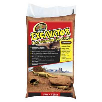 Zoo Med Laboratories Presents Zoo Excavator Burrow Clay Substrate 25lb. Allows Reptiles to Dig Tunnels and Burrows just Like they do in Nature. You can Mold and Create Multi-Level Terraces and Burrows in your Reptile's Terrarium. 5 Lbs [36547]