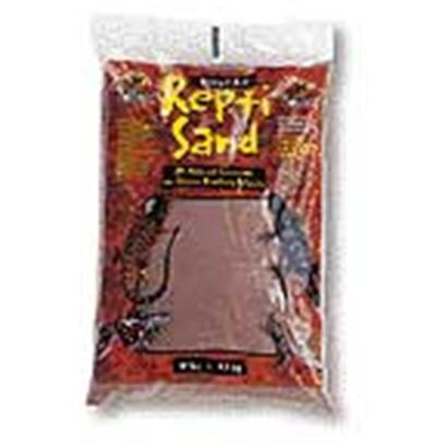 Zoo Med Laboratories Presents Zoo Repti Sand Red Repti-Sand Substrate-Natural 5lb. Our Repti Sand is Available in Two Natural Colors with no Added Dyes or Chemicals. It Stimulates Natural Digging and Burrowing Behavior and is an Excellent Heat Conductor. Repti Sand Creates a Very Naturalistic and Attractive Environment for Desert Reptile Species. Great for Bearded Dragons, Sand Boas, Soft Shell Turtles, Etc. [36560]