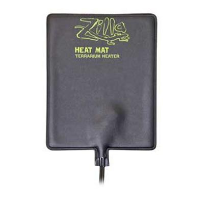 R-Zilla Presents R-Zilla (Rzil) Heat Mat Mini 4watt 4x7'. Ideal Heat Source for Desert and Tropical Species of Reptiles, Amphibians and Arachnids. This External Heater Helps Reptiles Thermo-Regulate for Daily Activity, Appetite and Metabolism. Easy to Use Adhesive Mounting Provides Optimal Heat Transfer. [36579]