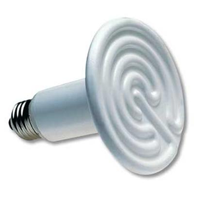Zoo Med Laboratories Presents Zoo Ceramic Heat Emitter 60watt Coil (10 to 20gal). Repticare Ceramic Heat Emitters are the Perfect 24 Hour Heat Source for all Reptiles. These Porcelain Heating Devices Screw into a Standard Porcelain Incandescent Socket, Giving off Intense &quot;Muscle Penetrating&quot; Infrared Heat, while Emitting no Light. Zoo Med's &quot;Flat Faced&quot; Design is More Efficient and Longer Lasting than Conical which Build Up Excess Heat Internally, Ultimately Carbonizing the Element. Our Emitters Last Up to 5 Years and are Perfect for High Humidity Terrariums. Great for Use with the Repti Temp 500r Thermostat. Ul/Cul Classified Ceramic Heat Emitter when Used in Conjunction with Zoo Med's Repti Porcelain Clamp Lamp (Item Lf-10) 60 Watt Sized for 10-20 Gallon Tank. [36584]