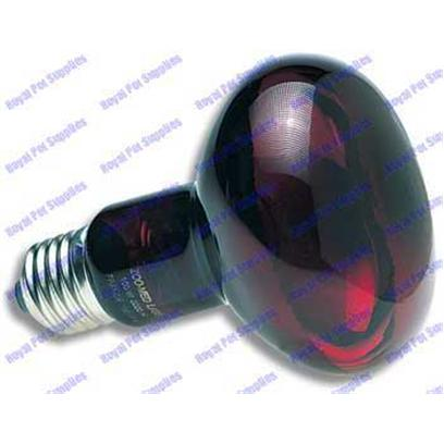 Zoo Med Laboratories Presents Zoo Infrared Inc Nocturnal Bulb 250watt Nocturnal. True Red Glass, not Painted or Coated! Zoo Med's Spot Reflector Focuses More Heat into your Enclosure and Minimizes Nighttime Glare. Ideal 24 Hour Heat Source for all Types of Reptiles, Amphibians, Birds, or Small Animals. Very Little Visible Light Provided so as not to Disturb your Animal's Sleep Patterns. Excellent for Nocturnal Viewing of all Types of Captive Animals. [36707]