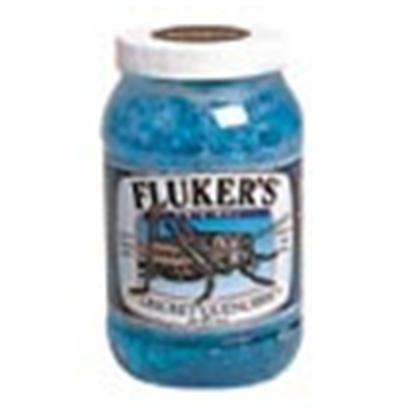Fluker Labs Presents Fluker Labs (Fluk) Cricket Quencher Gel-Original 7.5lb. Provides Crickets and Other Feeder Insects with a Safe, Clean Water Source in a Convenient Gel Form that Eliminates the Problems of Traditional Watering Methods - Such as Drowning and Bacterial Contamination. [36718]