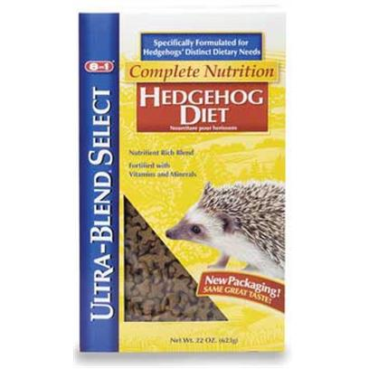 8 in 1 Presents Hedgehog Ultra Blend Select Diet 22oz. Further Enhance the Diversity of your Pet's Diet by Adding Ultra-Blend Pro Fruit N' Veggie can Treat for Hedgehogs. Formulated Specifically for Hedgehogs, the Combination of Ultra-Blend Diets and Treats Guarantees your Pet Maximum Freshness and Nutrition for the Best Health. [36751]