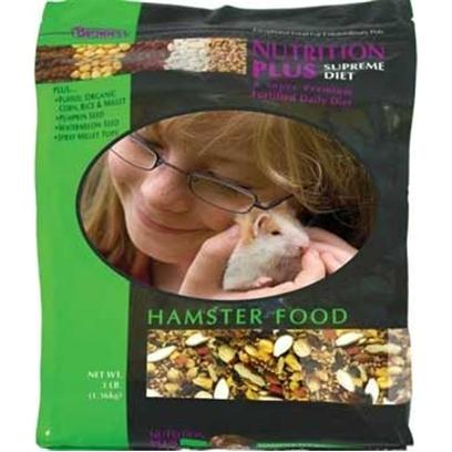 Fm Browns Presents Nutrition Plus Supreme Hamster Food 3lb 6pc. [36762]