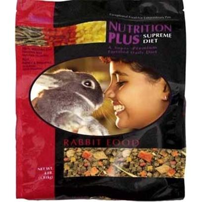 Fm Browns Presents Nutrition Plus Supreme Rabbit Food 4lb 6pc. [36763]