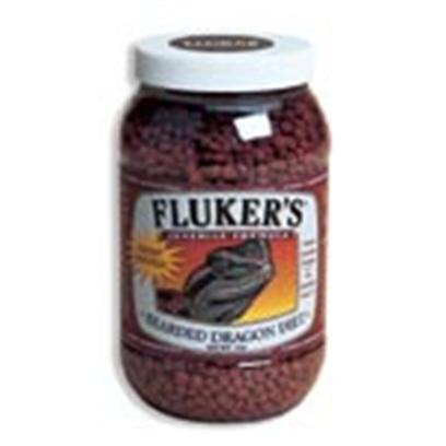 Fluker Labs Presents Fluker Juvenile Bearded Dragon Diet 4oz. Fluker's Bearded Dragon Diet is a Nutritionally Balanced Omnivore Diet that, in Combination with Live Foods and Vegetation, will Give the Dragons what they Need to Thrive in Captivity. This First Ingredient of this Product is Animal Based Protein, Whereas Other Commercial Diets Use Plant Products as the Major Source of Protein. Bearded Dragons are Omnivores and Require a Diet High in Animal Protein. The Formula also Uses Highly Digestible Rice as the Primary Vegetable. Other Companies Use Corn, which is not as Digestible. [36780]