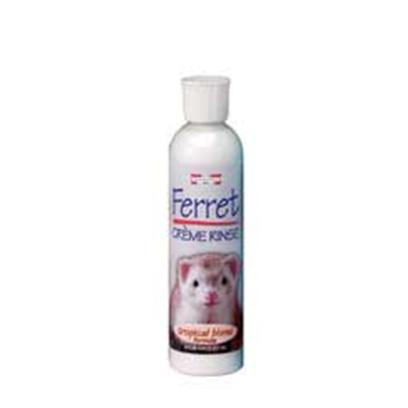 Marshall Presents Creme Rinse 8oz. Ph Balanced to Gently Condition Ferret's Coat and Skin. Makes Grooming Easier and Enhances Overall Appearance. Leaves Fresh Tropical Aroma and doesn't Strip Essential Body Oils. 8 Oz. [36801]