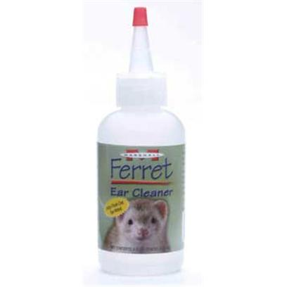 Marshall Presents Ferret Ear Cleaner 4oz. Use Regularly for Cleaning and Ear Mite Prevention. Contains Eucalyptol which Helps Promote Healthy Ear Tissue. Washes Away Dirt and Wax Painlessly without Use of Swabs. 4 Oz. [36804]