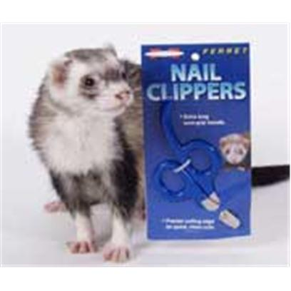 Marshall Presents Ferret Nail Clipper. Easy Grip Handle Makes Nail Trimming Easier. Use Regularly to Prevent Problems Caused by Long, Untrimmed Nails. [36822]