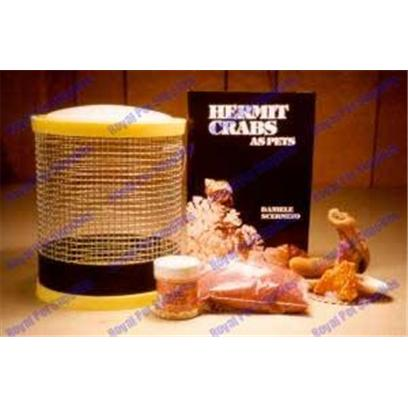 Florida Marine Research Presents Hermit Crab Deluxe Wire Cage Kit Kit-Large. Great for Taking the Crabs to School, to Friends House, or Onvacation. Allows for Afresh Air, and a Lot More Climbing Area. The Small Ones can also be Utilized as an Exercise Toy in the 10 or 20 Gallon Aquariums Small [36835]