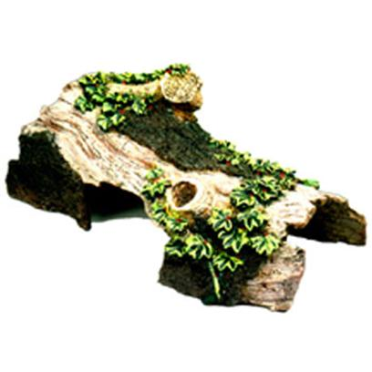 Blue Ribbon Presents Blue Ribbon (Br) Bent Log Hideaway Resin Ornament-Bent Large. &quot;Our Features Large Chambers, Natural Hand-Crafted Textures and Colors.&quot;The Natural Looking Hide-Away Home for Reptiles and Aquarium Fish 8.0 X 3.5 X 3.0 1 [36972]