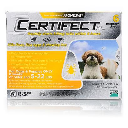 Buy Certifect for Dogs 89-132 Lbs 6pks [37915]