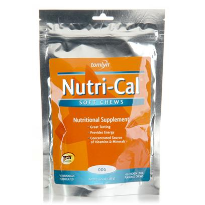Buy Tomlyn Nutri Cal Chews 45ct if you Want as Healthful and Nutritious a Diet as Possible, you Watch what you Eat. Why DoesnT the Same Philosophy Apply to your Dogs? Tomlyn Knows that Nutritional Supplements ArenT just for the Bipedal Members of your Family, and Proof of Such is Perfectly Demonstrated through their Nutri-Cal Soft Chews. These Nutritional Supplements for Dogs and Puppies are Similar to TomlynS Nutri-Cal Gel. ThereS Little Incentive to Create a Concentrated Source of Vitamins and Minerals for your Dogs if they WonT Like the Taste. So these Soft Chews were Designed with your PoochS Palate in Mind. WeRe Willing to Assume that 30 Years was Enough Time for Tomlyn to Learn what your Dogs will Think Tastes Good, as Well as which Vitamins and Minerals are Essential to a Well Rounded Diet. So Whether your Best Friends are Puppies or Adults, Highly Active or just Picky Eaters, TomlynS Nutri-Cal Soft Chews will Provide them with the Nutrition and Energy they Deserve. [37018]