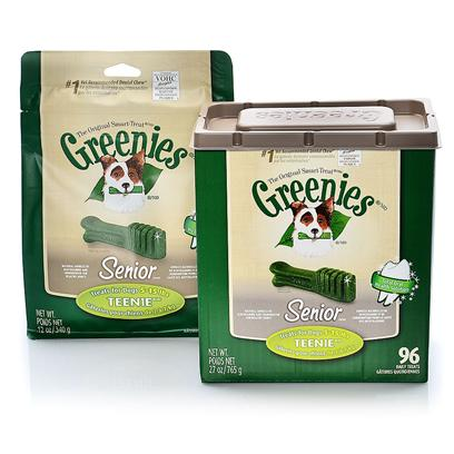 Greenies Senior Teenie For Dogs 5-15 lbs
