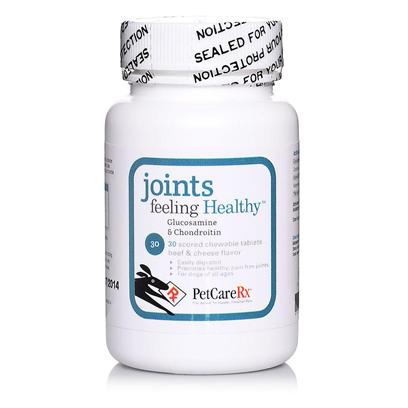 Petcarerx Presents Petcarerx Joints Feeling Healthy Supplement 180 Chewable Tablets. You Want your Dog to Feel his Best no Matter what his Age. Petcarerx Joints Feeling Healthy Supplement is Highly Effective in Supporting and Protecting Joint Health and in Preventing and Treating Cartilage Breakdown. It Contains Glucosamine and Chondroitin Sulfate that has been Shown to Safely and Effectively Relieve, Prevent, and Improve Joint Health Problems in Dogs. Free of Side Effects, this Joint Supplement not only Aids in Cartilage Production, but also Protects Existing Cartilage from Wear and Tear, and can be Given to Dogs of any Age. The Beef and Cheese Flavoring Enables you to Give this to your Dogs as a Treat, or Broken Up and Mixed in with their Food. [37186]