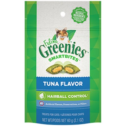 Greenies Feline Smart Bite Hairball Control