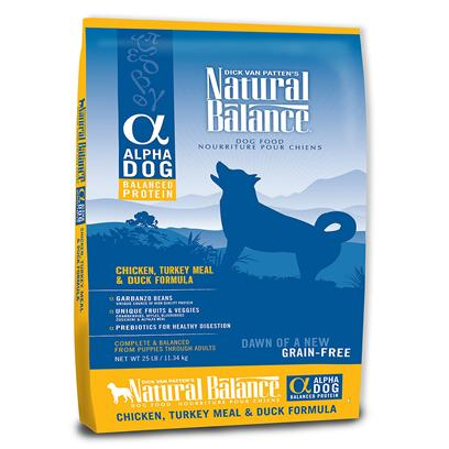 Natural Balance Alpha Chicken, Turkey Meal & Duck Grain Free Formula