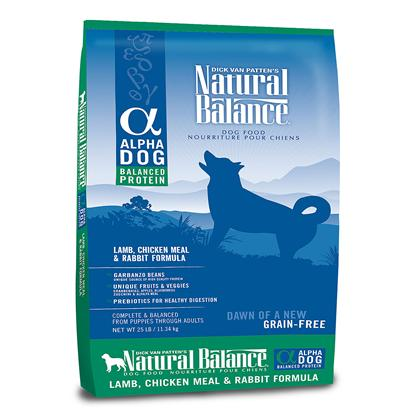 Natural Balance Alpha Lamb, Chicken Meal & Rabbit Dry Dog Formula