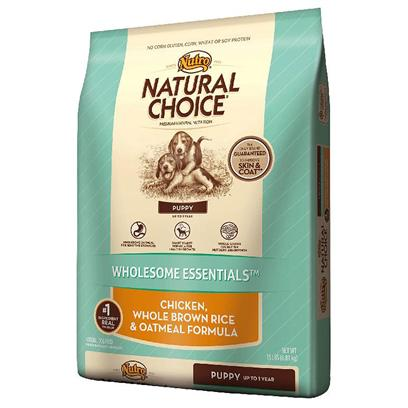 Nutro Presents Nutro Natural Choice Puppy Chicken Whole Brown Rice &amp; Oatmeal Formula 15lb Bag. Make Sure your Puppy Gets off to a Healthy Start with a Natural Puppy Food Designed for Growth and Development. Natural Choice Wholesome Essentials Puppy Formula Contains Real, Farm-Raised Chicken with Amino Acids Necessary for Building Muscle and Maintaining a Healthy Metabolism. WeVe also Added Oatmeal for Sensitive Stomachs, Whole Brown Rice for Better Nutrient Absorption and a Precise Balance of Calcium and Phosphorus to Help Build Strong Bones and Teeth. ItS Premium Nutrition your Puppy will Enjoy with the Long-Term Benefits you Want and Real Results you can Actually See. [37435]