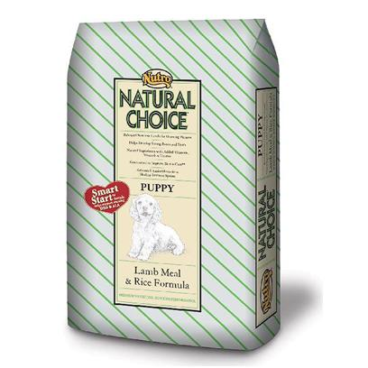 Nutro Presents Nutro Natural Choice Puppy Lamb Meal &amp; Rice Formula 15lb Bag. Puppies Need Nutrient-Rich, Healthy Puppy Food with Ingredients that Help Nourish Growth. ThatS Why we Use Real Australian and New Zealand Lamb Meal and Whole Brown Rice in our Limited Ingredient Diet Natural Puppy Food. ItS Important that Puppies Get the Optimal Nutrition without Added Ingredients that Could Cause Digestive Problems. Our Exclusive Smart Start Formula Includes Omega-3 Fatty Acids  Epa and Dha  which are Essential for Healthy Growth and Development. And, Like all of our Natural Puppy Food, this Formula is Fortified with Vitamins, Minerals and the Perfect Blend of Nutrients. We Guarantee a Soft, Shiny Coat that Makes a Difference you can See. [37438]