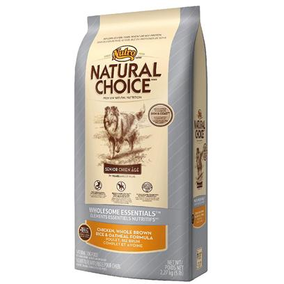 Nutro Presents Nutro Natural Choice Senior Chicken Whole Brown Rice &amp; Oatmeal Formula 15lb Bag. Aging Dogs can Experience some of the Same Challenges as Aging Humans, Including Mobility Issues, Memory Loss and Sensitivity to Certain Foods. Natural Choice Wholesome Essentials Senior Dog Food with our Senior Support System Formula Helps Replenish Antioxidants Older Dogs Need as they Age. It also Contains Omega-3 Fatty Acids, Ala and Dha for Brain and Cellular Health. Made with Real Chicken, Whole Brown Rice and Oatmeal, itS Delicious and Easy to Digest. Plus, the Added Benefit of Naturally Sourced Glucosamine and Chondroitin will Help Keep your PetS Joints Strong and Healthy. [37440]