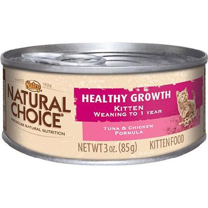 Nutro Natural Choice Kitten Healthy Growth Tuna & Chicken Formula
