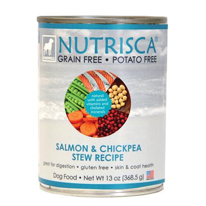 DOGSWELL NUTRISCA Salmon & Chickpea Stew Wet Food