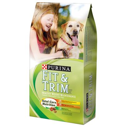 Purina Presents Purina Fit &amp; Trim Healthy Maintenance Complete Balanced for Adult Dogs 16.5lb Bag. Purina Fit &amp; Trim Healthy Maintenance is Made with Carefully-Selected, High Quality Ingredients Including Real Chicken to Help Maintain Lean Muscle Mass, Plus Nutrifit to Help Minimize Weight Gain. Every Bowl Contains the Delicious Kibble, Texture and Variety your Dog Loves, and the Nutrition he Needs to Help Support a Healthy, Active Life. [37884]