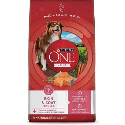 Purina Presents Purina One Smartblend Sensitive Systems 16.5lb Bag. Purina One Smartblend Sensitive Systems Starts with Real Salmon as the First Ingredient Plus Rice and Oat Meal. Why? Because it's a Tasty Blend that Provides Nutrition that's Easy to Digest, Nurturing your Dog's Sensitive Side. And a Generous Addition of Vitamin E and Omega-6 Helps Him be Comfortable in his Skin. We Asked, Mother Nature Answered. It's About Choosing Ingredients that Work Better Together than they Ever Could on their Own that Inspired Purina to Call this Bag of Food Smartblend. [37895]