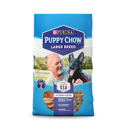 Buy Purina Puppy Chow products including Purina Puppy Chow Complete &amp; Balanced for Growing Puppies 16.5lb Bag, Purina Puppy Chow Complete &amp; Balanced for Growing Puppies 32lb Bag, Purina Puppy Chow Brand Food Large Breed Formula Complete &amp; Balanced 16.5lb Bag Category:Dry Food Price: from $17.89