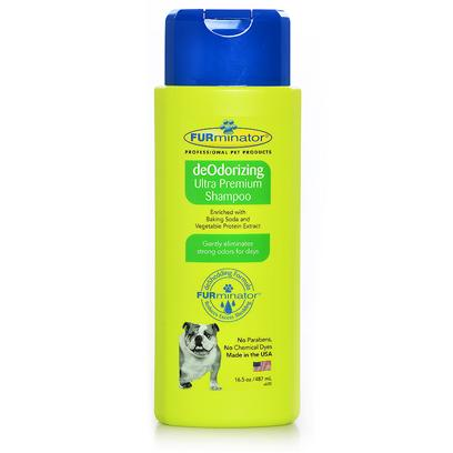 Buy Furminator Deodorizing Ultra Premium Shampoo 13456 Furminator, Industry Leaders in Grooming and Pet Care, Understands the Entire Shedding Cycle and the Role that Hair Care and Hygiene Play in Helping to Reduce and Control Shedding. For that Reason, a High-Performance Line of Hair Care, Hygiene and Waterless Products were Created Like not Other. Uniquely Formulated and Offering Superior Performance in Deshedding, Conditioning and Hygiene, the Premium Bathing Solutions Address Shedding at the Core and Enhance the Effectiveness of the Deshedding Tools. The Proprietary Formulations Provide the Performance and Benefits You'd Expect from the Pet Hair Experts. All Furminator Shampoos, Hair Care and Hygiene Products are Free of Parabens and Chemical Dyes and are Made in the Usa. They'll have your Pet Dancing in the Bath in no Time. [38078]