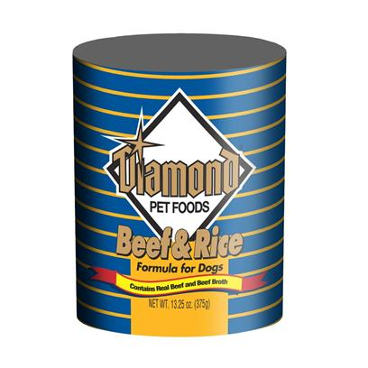 Diamond Beef & Rice Formula Canned Dog Food