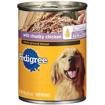 Pedigree Meaty Ground Dinner With Chunky Chicken Dog Food