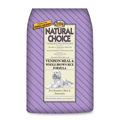 Nutro Natural Choice® Adult Venison Meal & Whole Brown Rice Formula