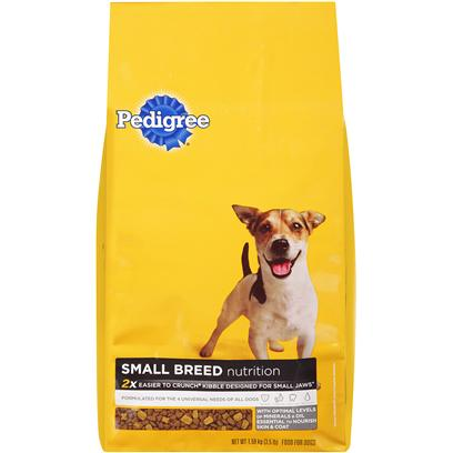 Pedigree Small Breed Nutrition Dog Food