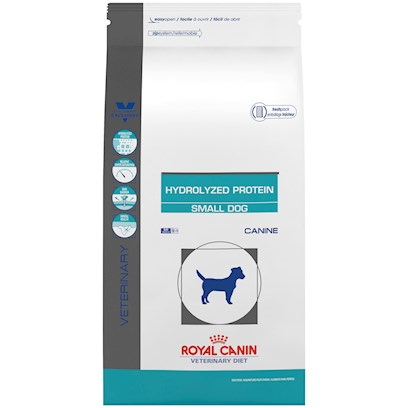 Royal Canin Veterinary Diet Hypoallergenic Hydrolyzed Protein Small Breed Dry Dog Food