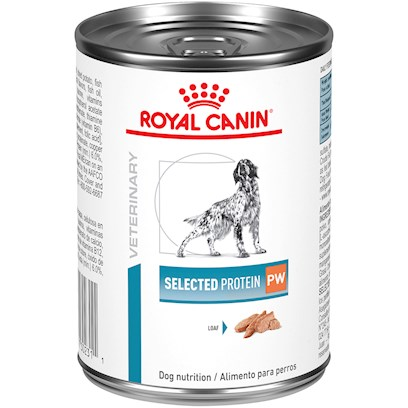 Royal Canin Veterinary Diet Hypoallergenic Select Protein PW Canned Dog Food