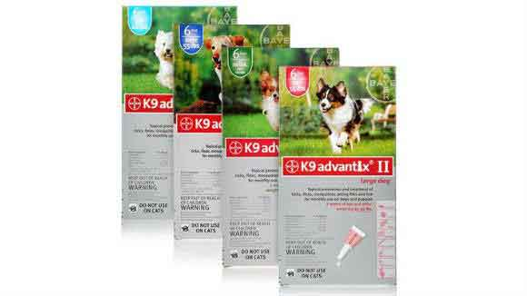 K9 Advantix Boxes